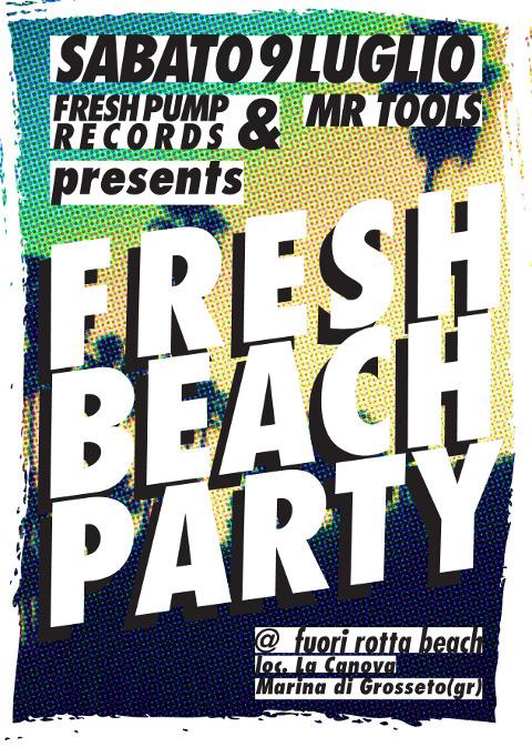 Mr. Tools @ Fuori Rotta Beach sabato 9 Luglio 2011