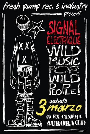 3 marzo 2012 - Signal Electrique @ ex cinema Aurora - Livorno
