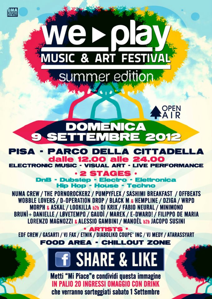09-09-2012 - Pisa - Parco della Cittadella - We Play festival