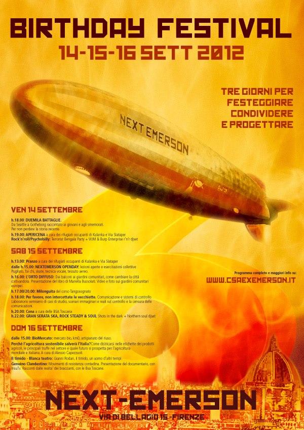 Compleanno Next Emerson 2012