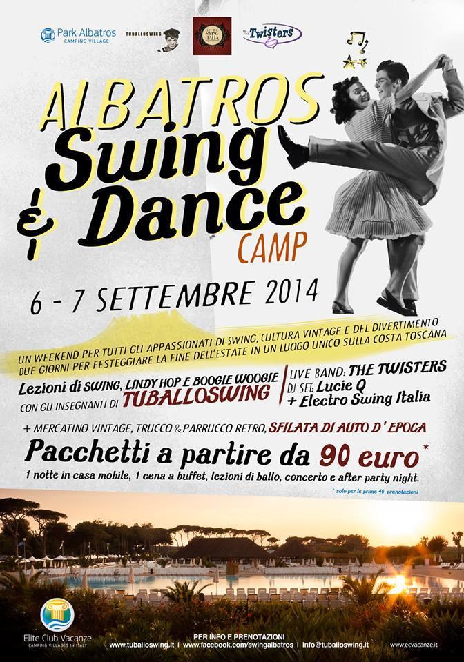 6 e 7 settembre 2014 - Albatros Swing Camp - San Vincenzo [LI]