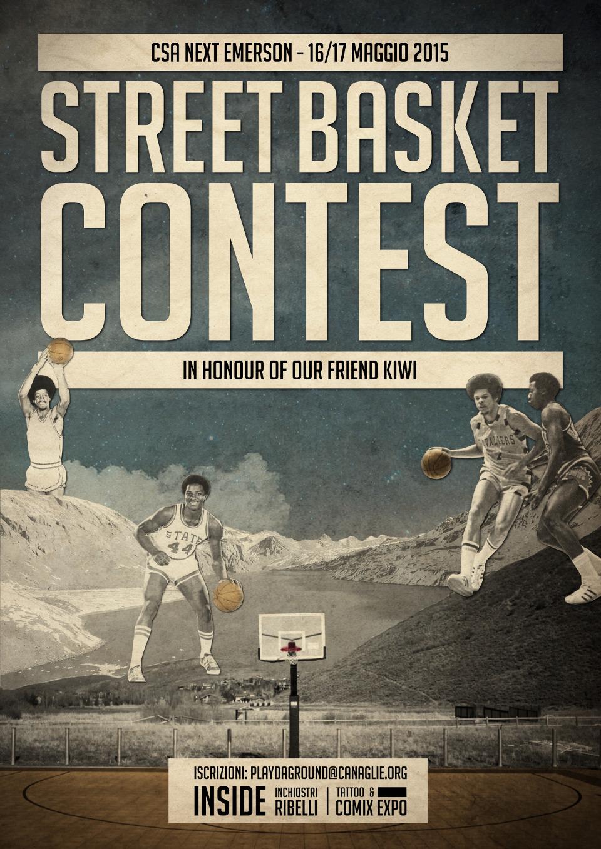 16 e 17 Maggio 2015 - Torneo di Basket Inchiostri Ribelli @ Next Emerson