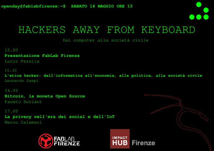 Sabato 16 Maggio – Firenze – Partito Pirata @ FabLab Open Day