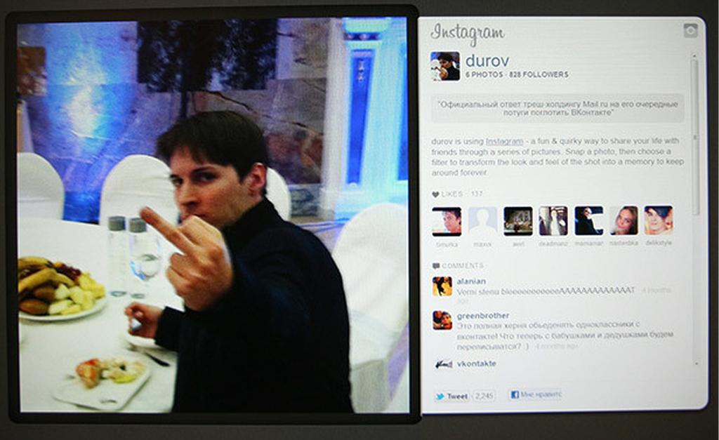 Pavel Durov Dito Medio