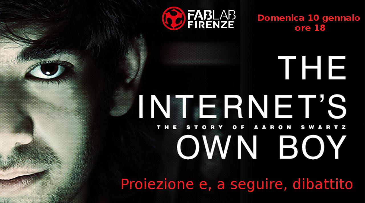 ricordando Aaron Swarz 11 Gennaio 2016 - FabLab Firenze
